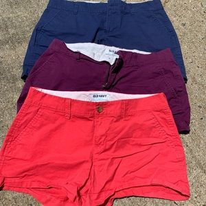 OLD NAVY shorts 3 INCH LENGTH